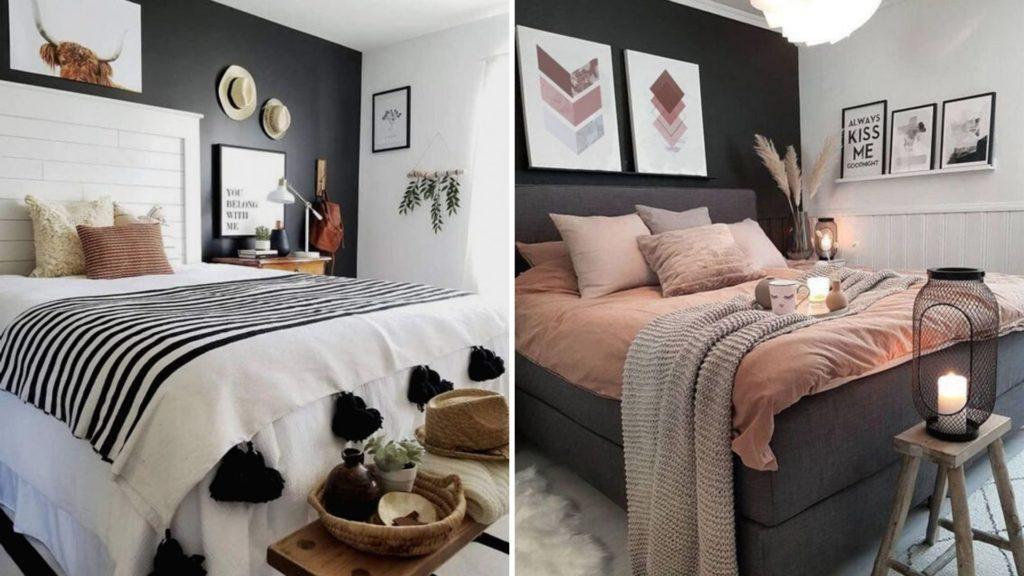 donkere kleuren in huis toepassen