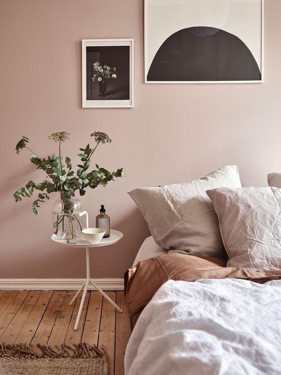 slaapkamer blush tinten