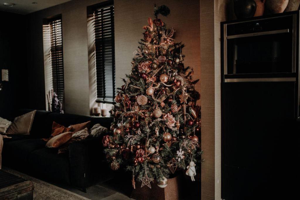 Kerstboom interieur