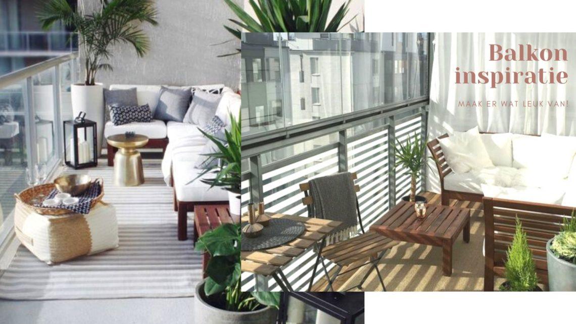 Balkon inspiratie inrichten