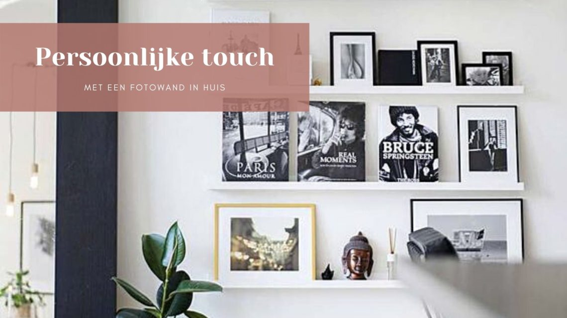 Fotowanden in huis