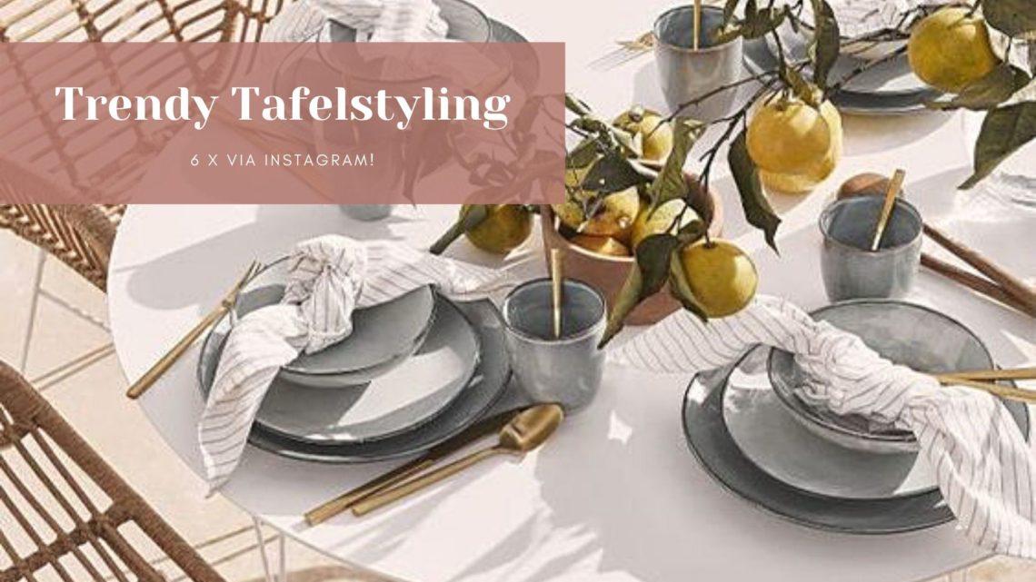 tafelstyling borden
